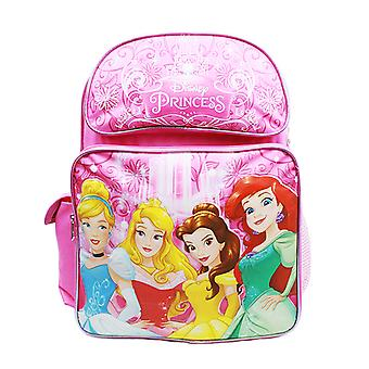 Backpack - Disney Princess - Cinderella Aurora Bella & Ariel A08432