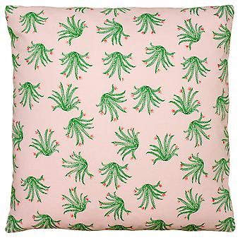 Paoletti Blush Cactus Cushion Cover