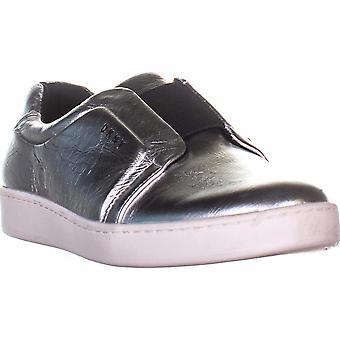 DKNY Womens Bobbi leder laag bovenste Slip op Fashion Sneakers