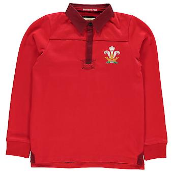 Team Rugby Boys Long Sleeve Jersey Junior Maglione Tee Top Kids