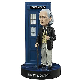 Doctor Who First Doctor avec TARDIS Bobble Head
