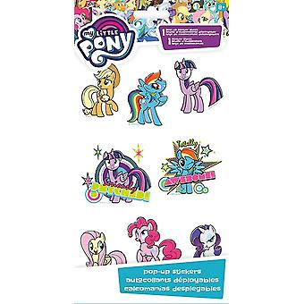 Sticker Pop-up 4x8 - My Little Pony - Stationery New st6103