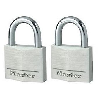 Masterlock Padlock 40 Mm Wide Solid Aluminum Body (DIY , Hardware)