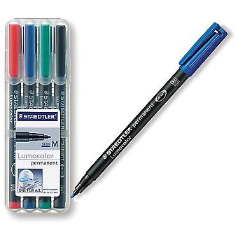 Staedtler 4 Lumocolor Stadtler Medium marker (Babies and Children , Toys , School Zone)