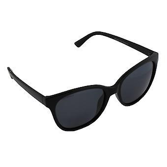 Gafas de sol Señora Polaroid Wayfarer - Negro Brillante con brillenkokerS357_4 gratis