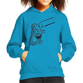 Grimmy Bad Dog Kid's Hooded Sweatshirt
