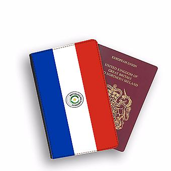 PARAGUAY Flag Passport Holder Style Case Cover Protective Wallet Flags design