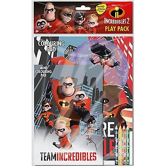 Incredibles Play Pack Activity Set