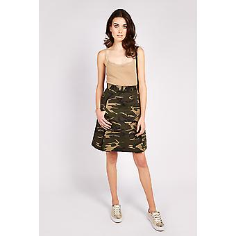 Valley of the Dolls Greenfield Camo Print hame Khaki