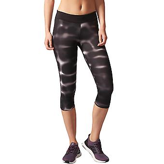 Adidas Performance Women ' s Response 3/4 Capri Sports gym kjører leggings-svart