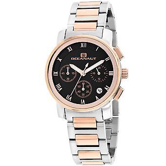 Oceanaut Women's Riviera Black Dial Watch - OC0636