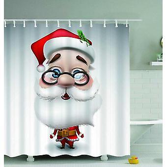 Santa Claus Cartoon Shower Curtain
