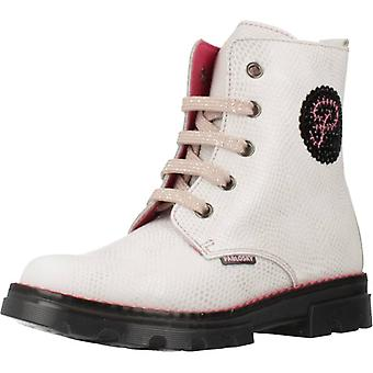 Pablosky Boots 474603 wit kleur