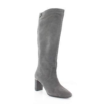 الفاني النساء نيسي الجلود مغلقة تو الركبة أحذية الأزياء الراقية