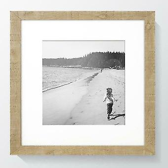 Oak Photo Frame Norfolk Picture Poster Wood Effect Wall Mounted Rustic Square UK Style