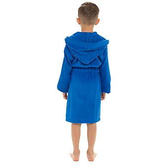 Boys Hooded Sport Design Soft 100% Cotone Dressing Abito da bagno