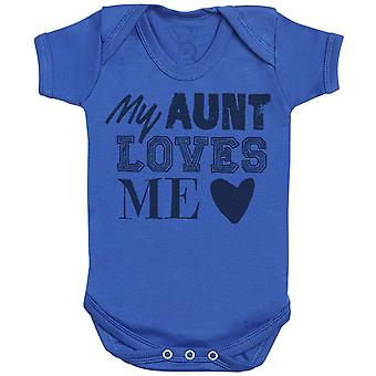 My Aunt Loves Me Baby Bodysuit - Baby Gift
