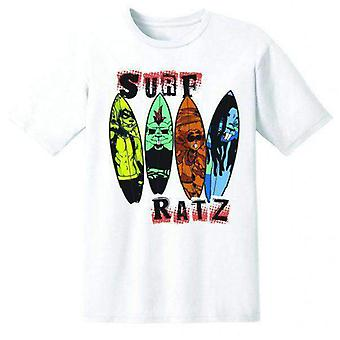 Surf ratz line-up kid's t-shirt – white