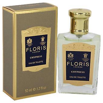 فلوريس chypress eau دي رذاذ toilette بواسطة الزهور 541613 50 مل