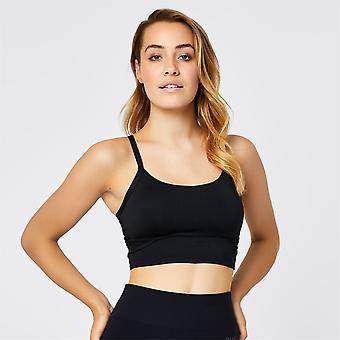 EUA Pro Womens Long Ladies Bra Sports Bra Training Crop Tops T Shirt Tee