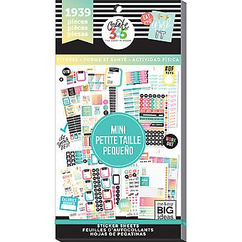 Happy Planner Sticker Value Pack-Work It Out - Mini, 1939/Pkg