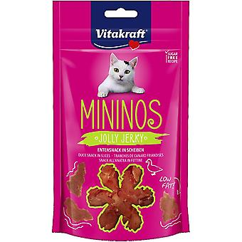 Vitakraft Snack Pigs with Duck Pieces (Cats , Treats , Chewy & Softer Treats )