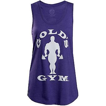 Gold's Gym Women's Silhouette Joe Racerback Tank Top - Purple