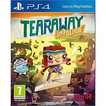 Tearaway Unfolded Messenger Edition PS4 Game
