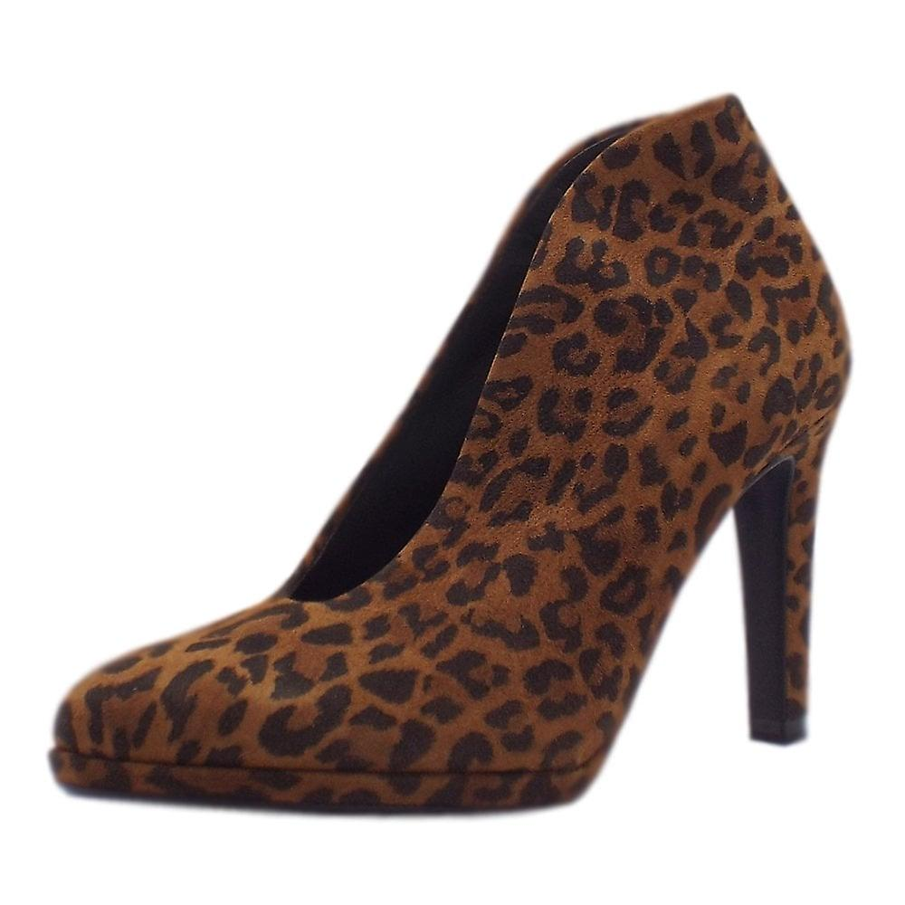 Peter Kaiser Haley Shoe Boot In Leopard Suede EkmBy