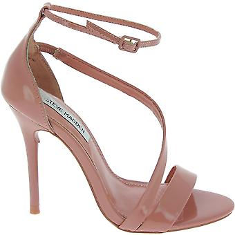Steve Madden 910008710704008008 Kvinnor's Rosa patent läder sandaler