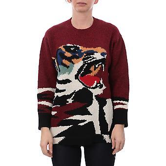 Kenzo F962to6053xa23 Kvinder's Rød Nylon Sweater