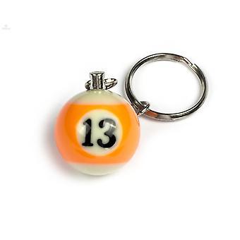 Keychain/Key Chain billiard Ball (NO #13)