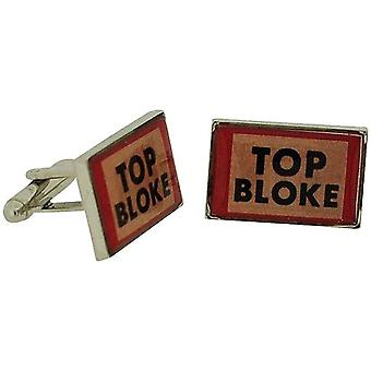 Ministry of Chaps Top Bloke Splendid Pair Of Cufflinks Set in Gift Box HM708