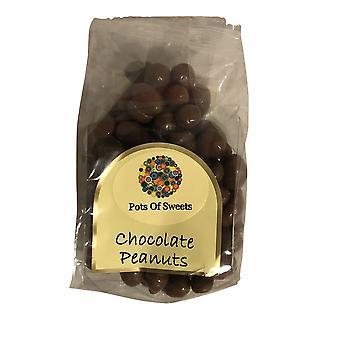 Cinq sacs de 200g Sac d'arachides recouvertes de chocolat