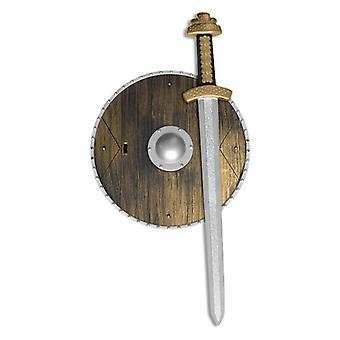 Waffen-Set mit Schwert und Schild