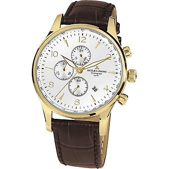 Jacques Lemans - Wristwatch - Men - London - Classic - 1-1844ZD