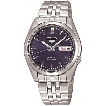 Seiko 5 Automatic Blue Dial Stainless Steel Men's Watch SNK357K1