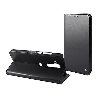 Folio mobiele telefoon hoesje Huawei Mate 20 Lite KSIX Zwart