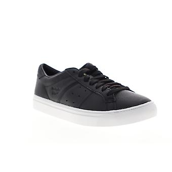 Onitsuka Tiger Lawnship 2.0 Mens Black Leather Low Top Sneakers Shoes