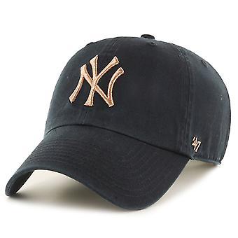 47 Brand Adjustable Cap - Gold Metallic New York Yankees