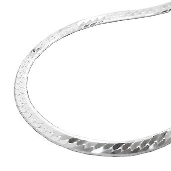 Tank chain silver chain 925 sterling silver chain, tanks pressed