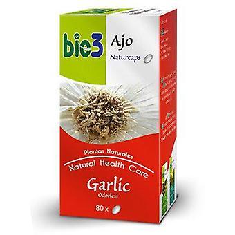 Bio3 Garlic Naturcaps 500 mg 80 Capsules