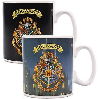 Half Moon Bay Harry Potter Heat Change Mug Hogwarts