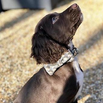 Dog Bowtie - Holborn Taupe