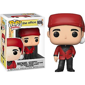 The Office Michael as Santa Bond Pop! Vinyl