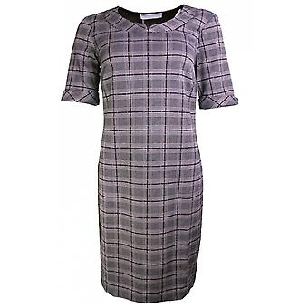 Bianca Check Fitted Dress