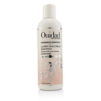 Superfruit renewal clarifying cream shampoo (all textures) 250ml/8.5oz