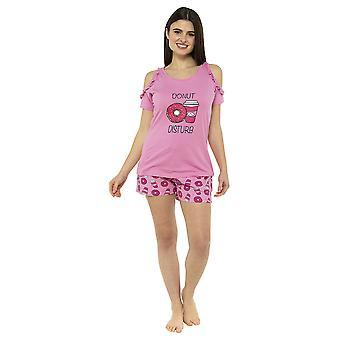 """""""Donut Disturb"""" Short Pyjama Set"""