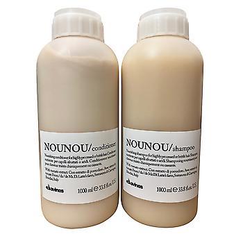 Davines Nounou Shampooing nourrissant - Conditionneur Set 33.8 OZ