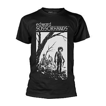 Edward Scissorhands Hilltop Officiel Tee T-Shirt Mens Unisex